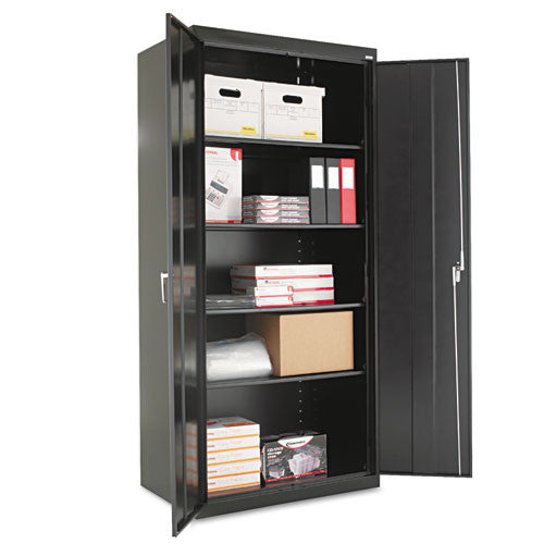 Alera Heavy Duty Welded Storage Cabinet ALECM7824BK,  (UPC:042167881290)