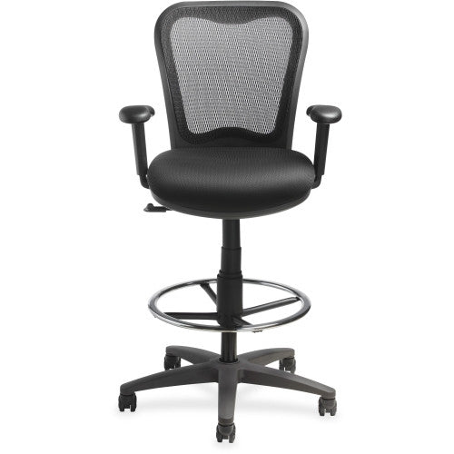 Lorell Mesh-back Drafting Stool ; UPC: 035255259811