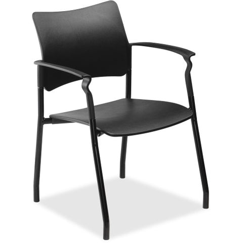 Lorell Stack Chair with Arms ; UPC: 035255259828