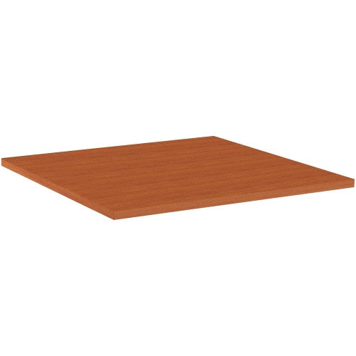 Lorell Hospitality Square Tabletop - Cherry ; UPC: 035255625852