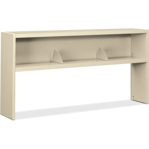 HON 3800 Series Stack On Open Shelf Hutch ; Color: Putty ; UPC: 020459916950