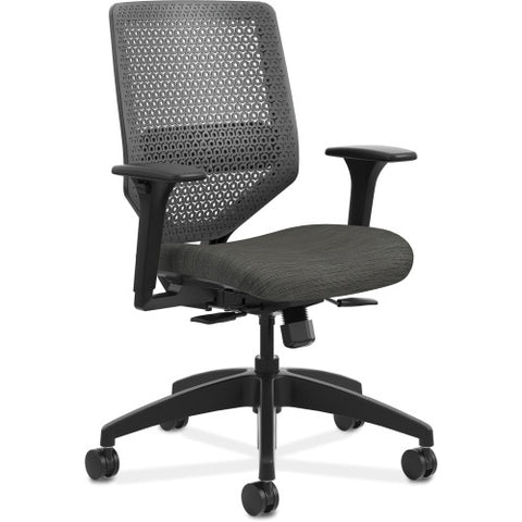 HON Solve Mid-Back Task Chair ; Color: Ink; UPC: 020459651561