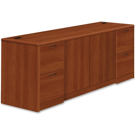 HON 10700 Series Credenza with Doors and file drawers, Cognac  (035349234250)
