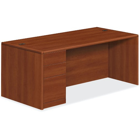 HON 10700 Series Left Pedestal Desk HON10788LCO ; UPC: 035349242835