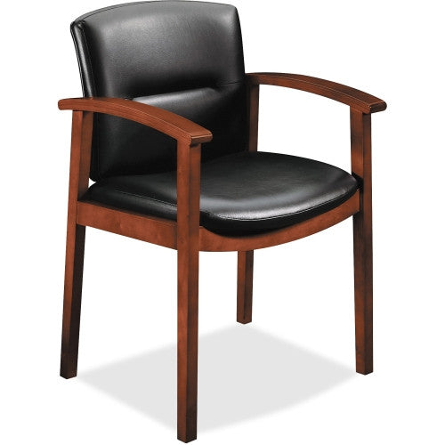 HON Park Avenue Collection Hardwood Guest Chairs HON5003COEE11,  (UPC:035349245065)