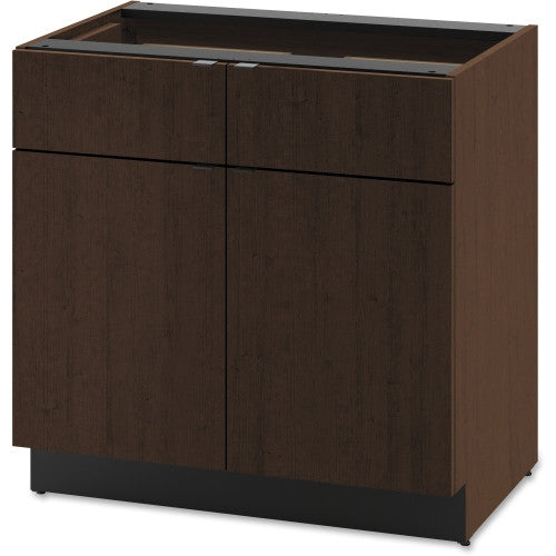 HON Modular Double Base Cabinet HONHPBC2D2D36MO, Brown (UPC:035349246338)