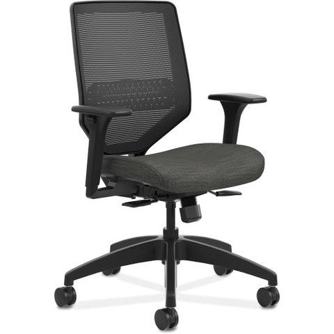 HON Solve Mid-Back Task Chair ; Color: Ink; UPC: 020459650090
