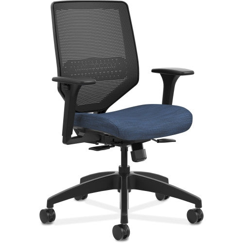 HON Solve Mid-Back Task Chair ; Color: Midnight; UPC: 020459650168