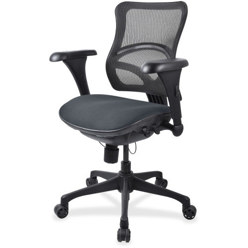 Lorell Mid-back Fabric Seat Chair ; UPC: 035255229821