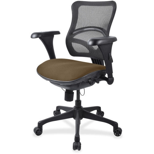 Lorell Mid-back Fabric Seat Chair ; UPC: 035255229838