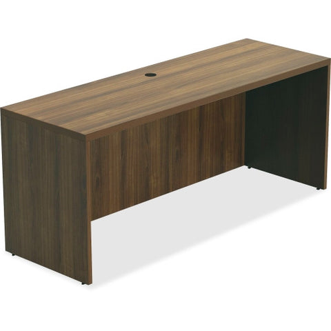 Lorell Chateau Series Walnut Laminate Desking ; UPC: 035255343077