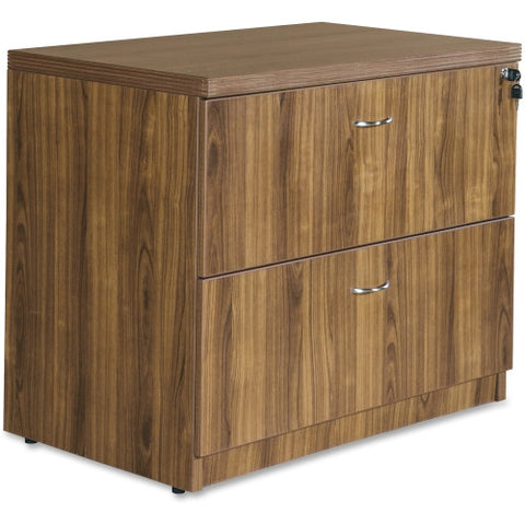 Lorell Chateau Series Walnut Laminate Desking ; UPC: 035255343138