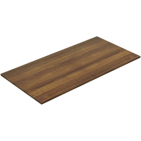 Lorell Chateau Walnut 8' Rectangular Conference Tabletop ; UPC: 035255343398