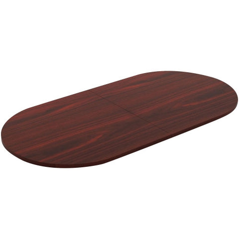 Lorell Chateau Series Mahogany 8' Oval Conference Tabletop ; UPC: 035255343428