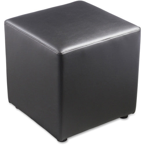 Lorell Leather Cube Chair ; UPC: 035255358545