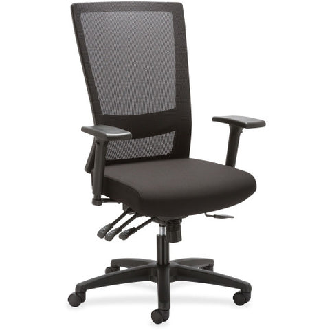 Lorell Asynch Control High-back Mesh Chair ; UPC: 035255548557