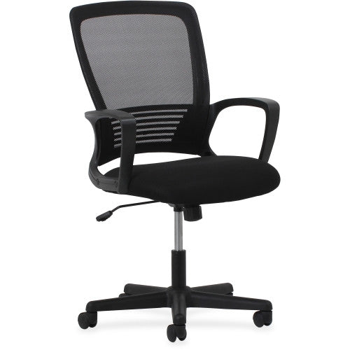 Lorell Sandwich Seat Mesh Mid-back Chair ; UPC: 035255548571