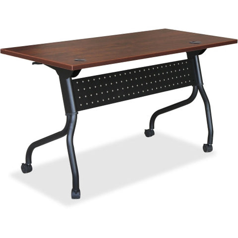 Lorell Cherry Flip Top Training Table ; UPC: 035255595155