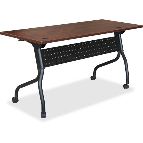 Lorell Cherry Flip Top Training Table ; UPC: 035255595162