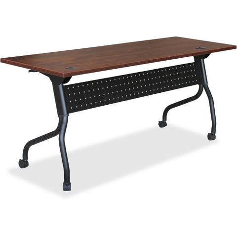 Lorell Cherry Flip Top Training Table ; UPC: 035255595179
