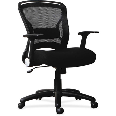 Lorell Flipper Arm Mid-back Chair ; UPC: 035255595193