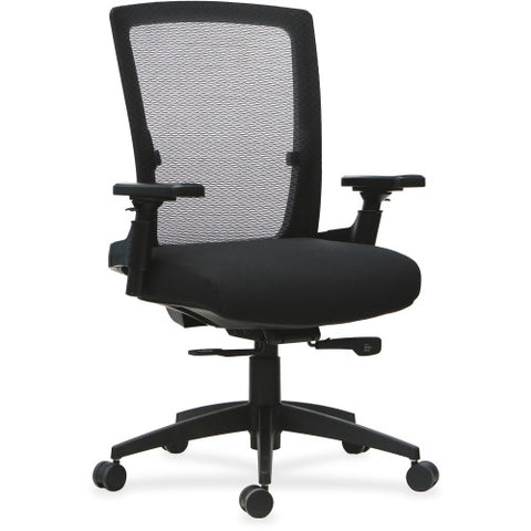 Lorell 3D Rotation Armrests Mid-back Chair ; UPC: 035255595209