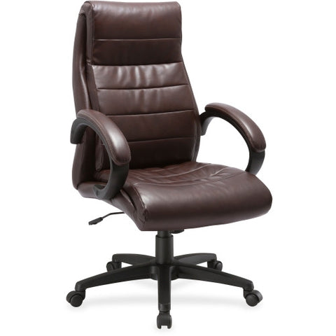 Lorell Deluxe High-back Leather Chair ; UPC: 035255595315