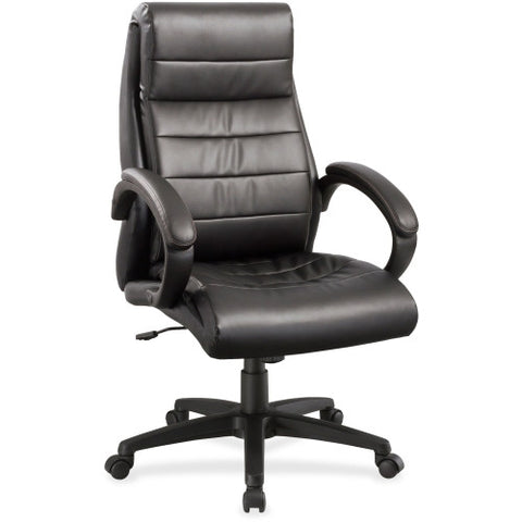Lorell Deluxe High-back Leather Chair ; UPC: 035255595322