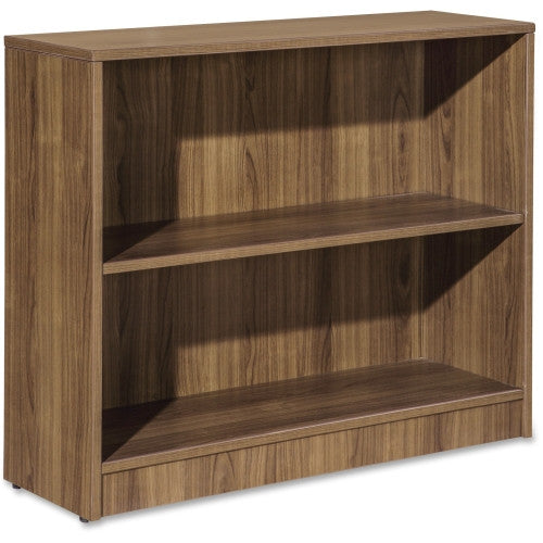 Lorell Essentials Series Walnut Laminate Bookcase ; UPC: 035255595636