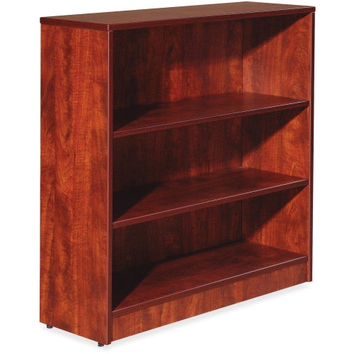 Lorell Essentials Series Cherry Laminate Bookcase ; UPC: 035255595650