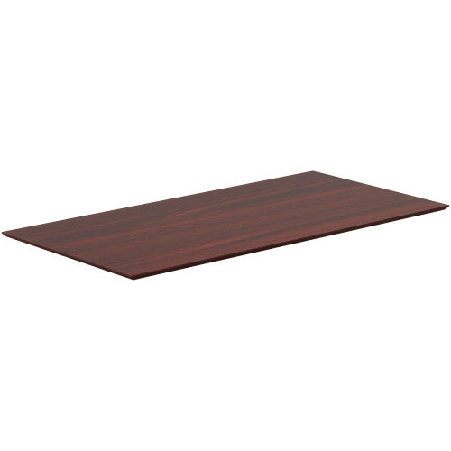 Lorell Mahogany Height Adjustable Table Top LLR59615