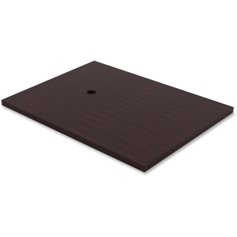 Lorell Prominence Conference Table Espresso Laminate Adder ; UPC: 035255699464