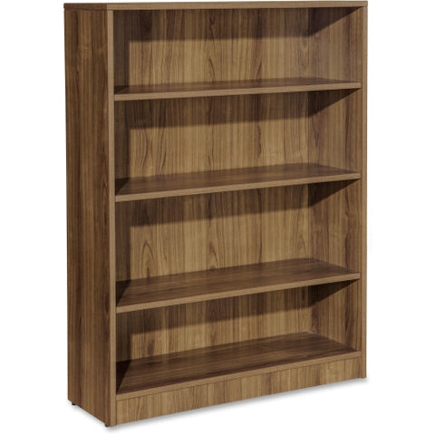 Lorell Essentials Series Walnut Laminate Bookcase ; UPC: 035255699747