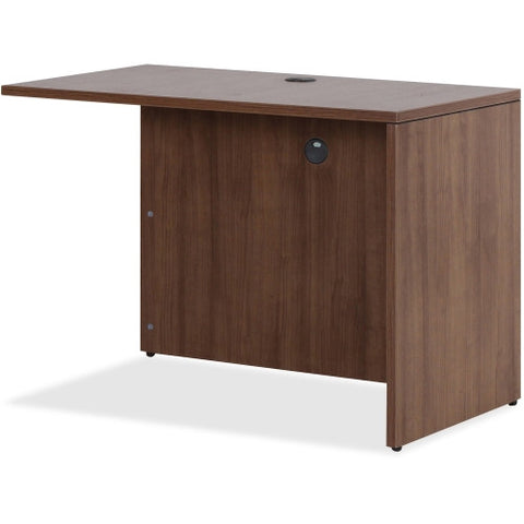 Lorell Essentials Series Walnut Return Shell ; UPC: 035255699792
