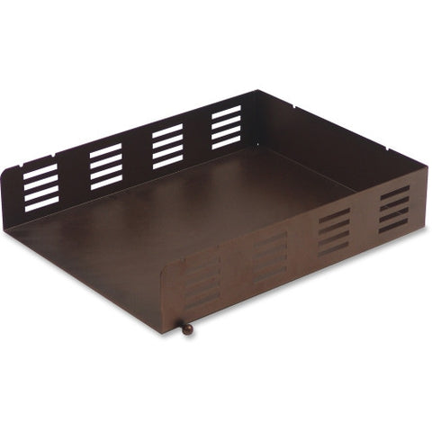 Lorell Stamped Metal Front Loading Letter Tray ; UPC: 035255842488