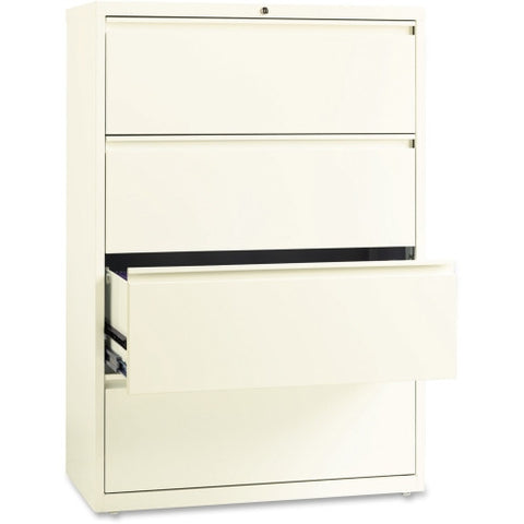 "Lorell 36"" Lateral File LLR22953, White (UPC:035255229531)"