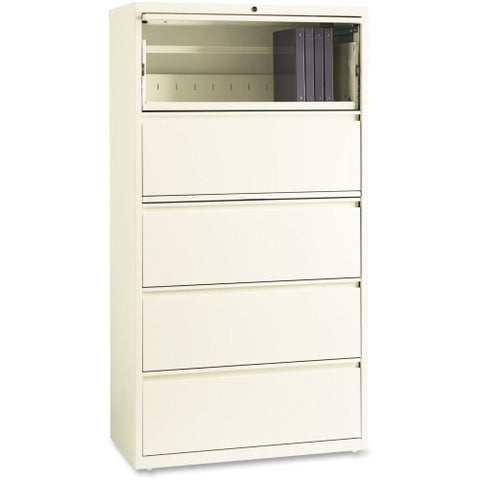 "Lorell Binder Storage 36"" Lateral File LLR22954, White (UPC:035255229548)"