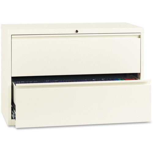 "Lorell 42"" Lateral File LLR22955, White (UPC:035255229555)"