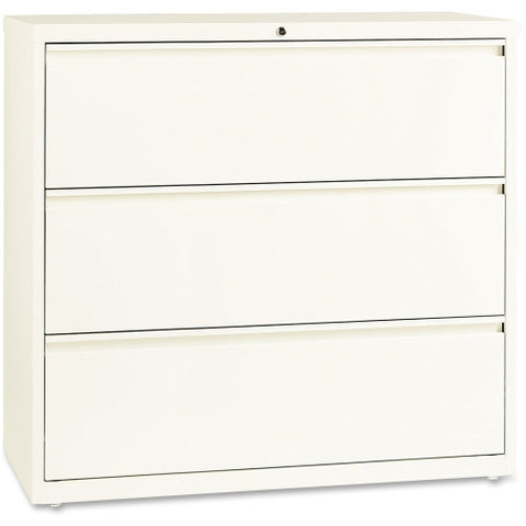 "Lorell 42"" Lateral File LLR22956, White (UPC:035255229562)"