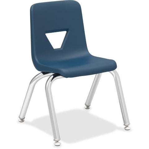 "Lorell 12"" Seat-height Stacking Student Chair ; UPC: 035255998819"