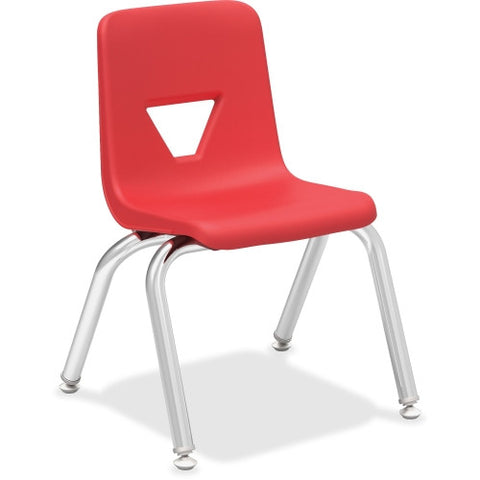 "Lorell 12"" Seat-height Stacking Student Chair ; UPC: 035255998826"