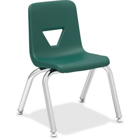 "Lorell 12"" Seat-height Stacking Student Chair ; UPC: 035255998833"