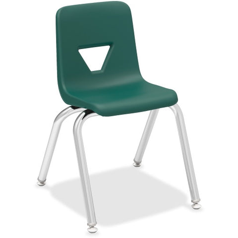 "Lorell 14"" Seat-height Stacking Student Chair ; UPC: 035255998864"