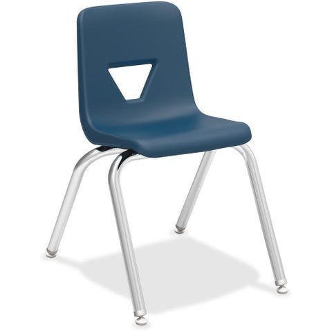 "Lorell 16"" Seat-height Stacking Student Chair ; UPC: 035255998871"