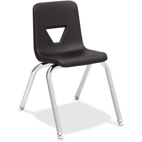 "Lorell 16"" Seat-height Stacking Student Chair ; UPC: 035255998888"