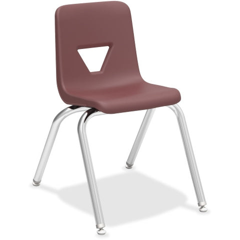"Lorell 16"" Seat-height Stacking Student Chair ; UPC: 035255998895"