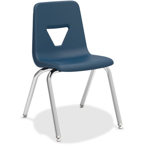 "Lorell 18"" Seat-height Stacking Student Chair ; UPC: 035255998901"