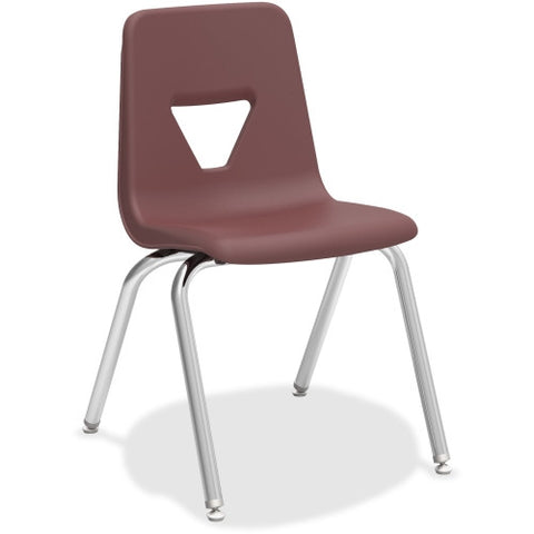 "Lorell 18"" Seat-height Stacking Student Chair ; UPC: 035255998925"