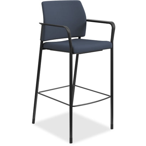 HON Accommodate Cafe Stool ; Color: Cerulean; UPC: 020459254595