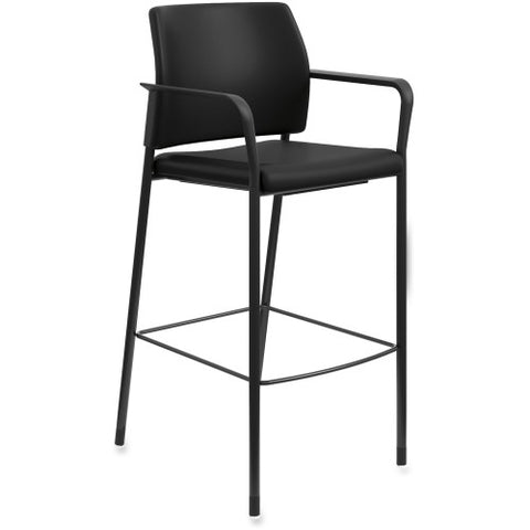 HON Accommodate Cafe Stool ; Color: Black; UPC: 020459257312